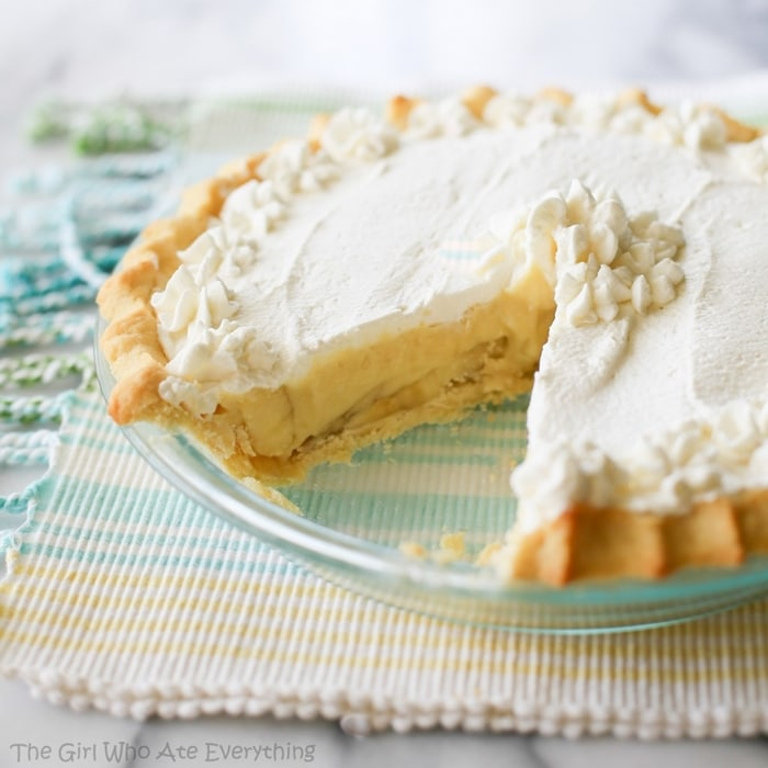 Layered Banana Cream Pie Dessert