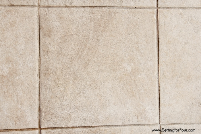 How To Clean Tile Floors The Chemical Free Way By Setting For Four