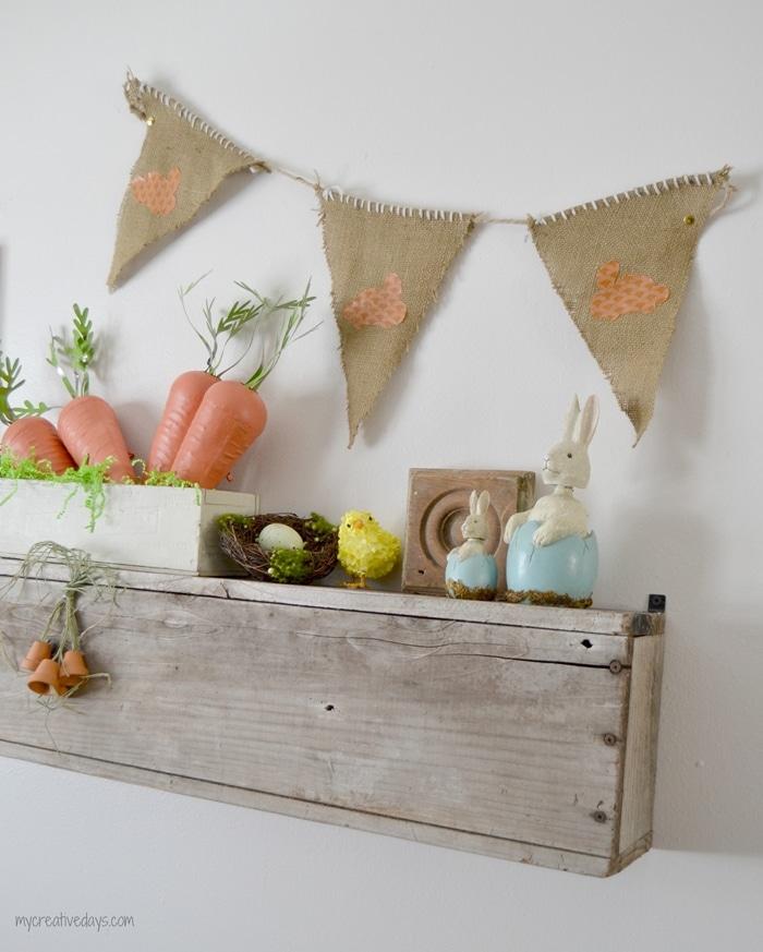 Diy Spring Decor: Spring Mantel Ideas