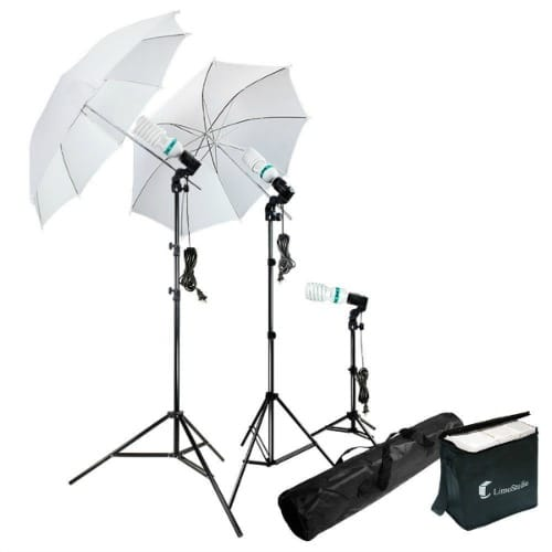 Blogging photography tip: I use this lighting kit to add natural light when I'm taking room photos, DIY, craft and food photos. They are perfect for cloudy days and for brightening dark shadows in corners in rooms.