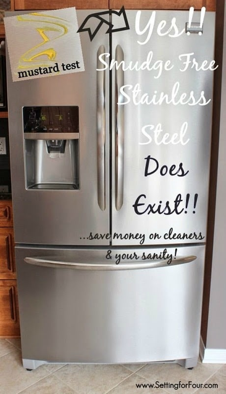 Yes - Smudge Free Stainless Steel does exist! #spon
