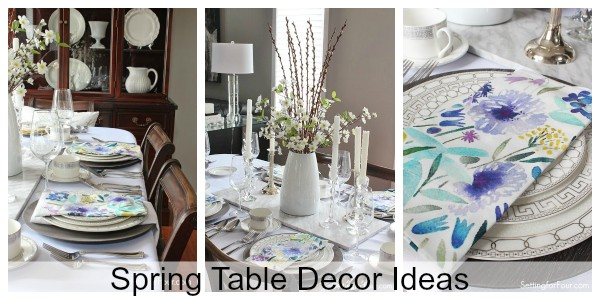 Spring Table Decor Ideas
