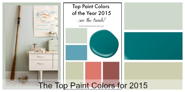 Top Paint Color Trends for 2015