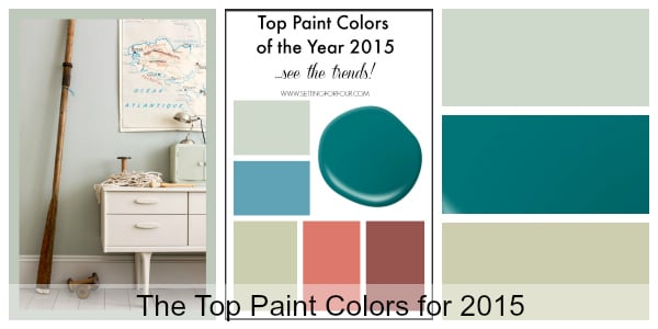 Decor Tip: Top Paint Color Trends for 2015