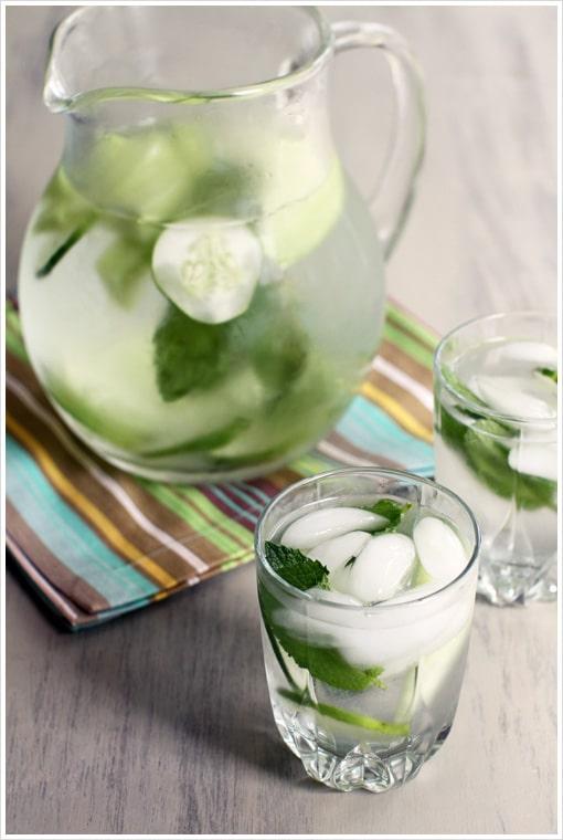 Cucumber Melon Mint Water
