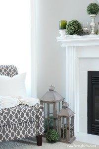 Living Room Vignette and Decorating ideas