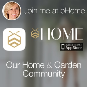 Join me on the bHome app - the NEWEST Home and Garden Community! Get this AMAZING bHome App FREE available in the iTunes App Store! www.settingforfour.com