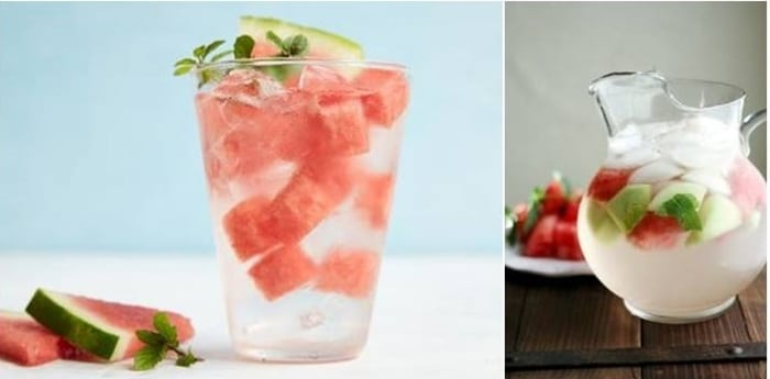 Watermelon Mint Flavored Water Recipe