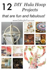 12 DIY Hula Hoop Projects that are Fun and Fabulous!