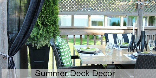 Summer Deck Decor