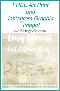 FREE Art Print and Instagram Graphic Image