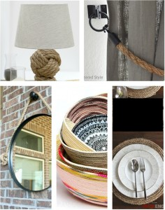 5 Gorgeous DIY Rope Projects to make!