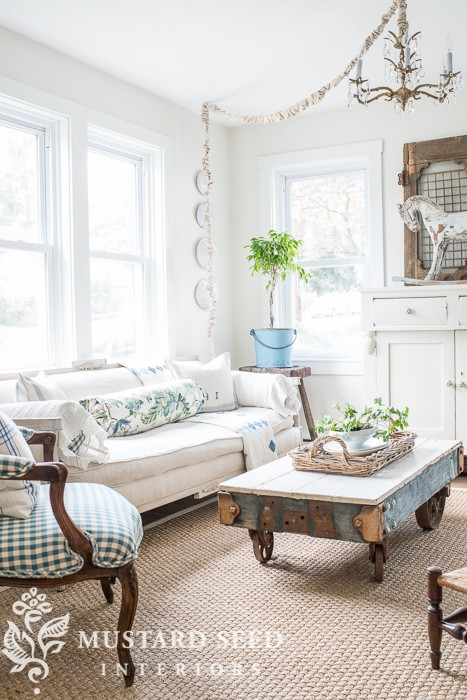 Summer House tour from Miss Mustard Seed