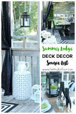 Summer Lodge Deck Decor Source List