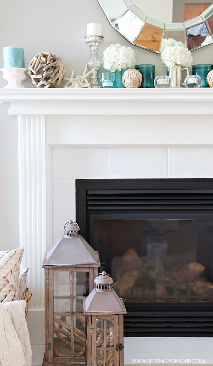 Decorating Ideas > Summer House Tour With BHome  Setting For Four ~ 141146_Fireplace Mantel Decorating Ideas For Summer