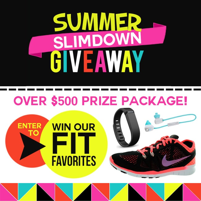 Enter to win the Summer Slimdown Giveaway!