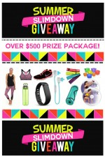 Summer Slimdown $500 Prize Package Giveaway!