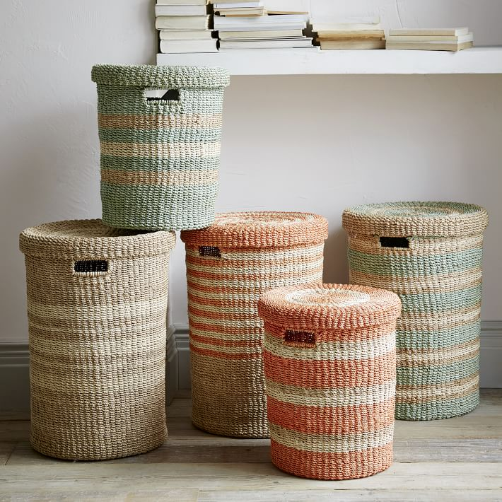 West Elm Baskets for Storage and Home Decor