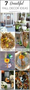 7 Beautiful Fall Decor Ideas