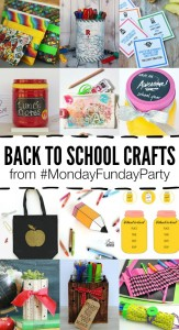 12 FUN Back to School Crafts for the Kids! Great ideas for the kids and moms!