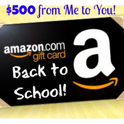 Enter to win $500 AMAZON GIFT CARD! www.settingforfour.com