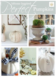 5 Perfect DIY Pumpkin Decorations for Fall and Thanksgiving! www.settingforfour.com