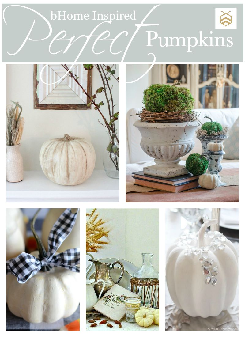 5 Perfect DIY Pumpkin Decorations - Setting for Four