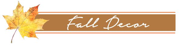 Fall in Love with your Home - Fall decor ideas. www.settingforfour.com