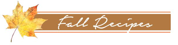 Fall in Love with your Home - Fall recipe ideas. www.settingforfour.com