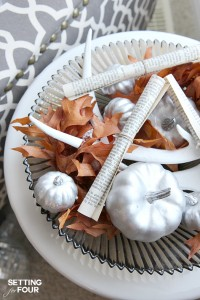 Quick and Easy Fall Centerpiece