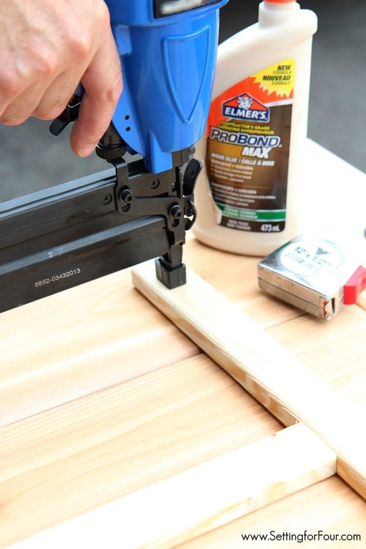 DIY Wood Pumpkin Holder - how to build it! www.settingforfour.com
