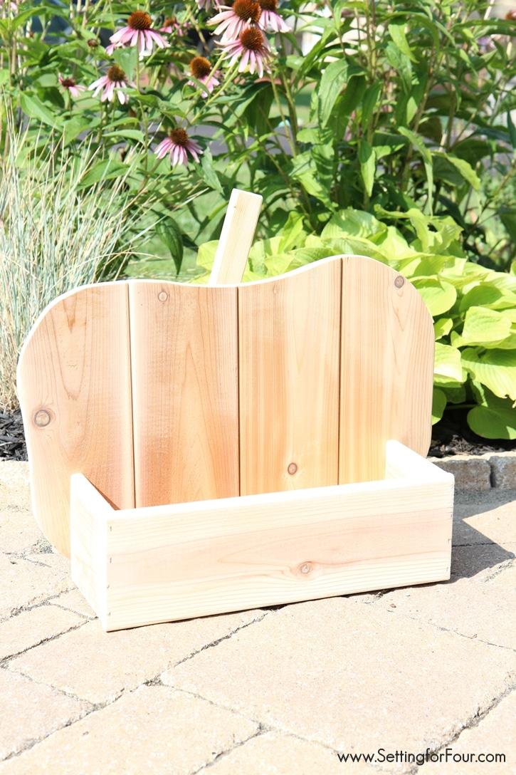 DIY Wood Pumpkin tutorial. www.settingforfour.com