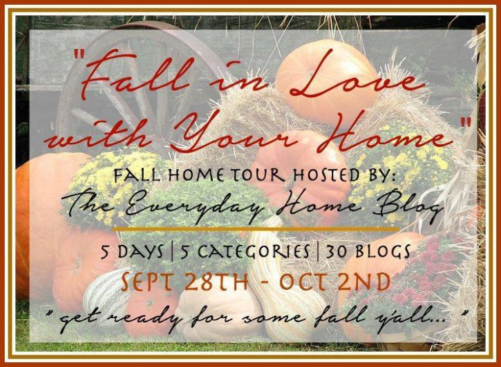 Fall in Love with Your Home! 30 Fall Decor and DIY ideas to decorate your home for autumn! www.settingforfour.com