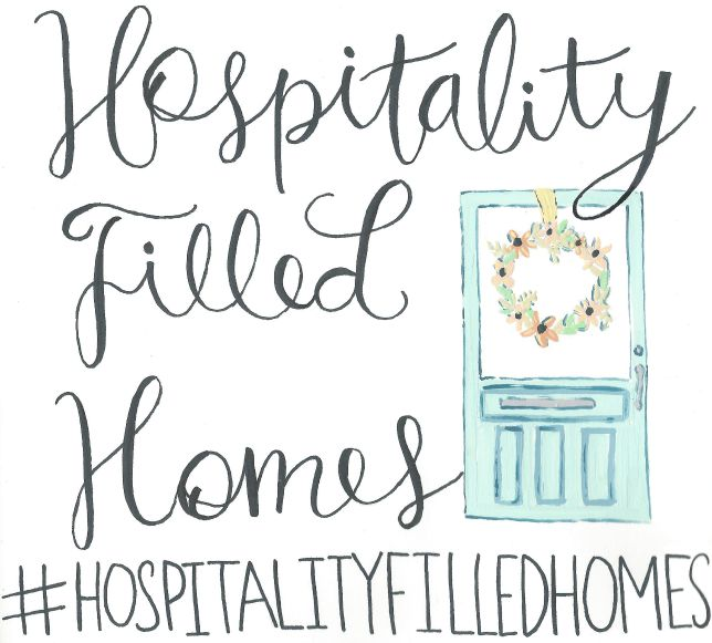 Hospitality Filled Homes Fall decor ideas at #hospitalityfilledhomes. www.settingforfour.com