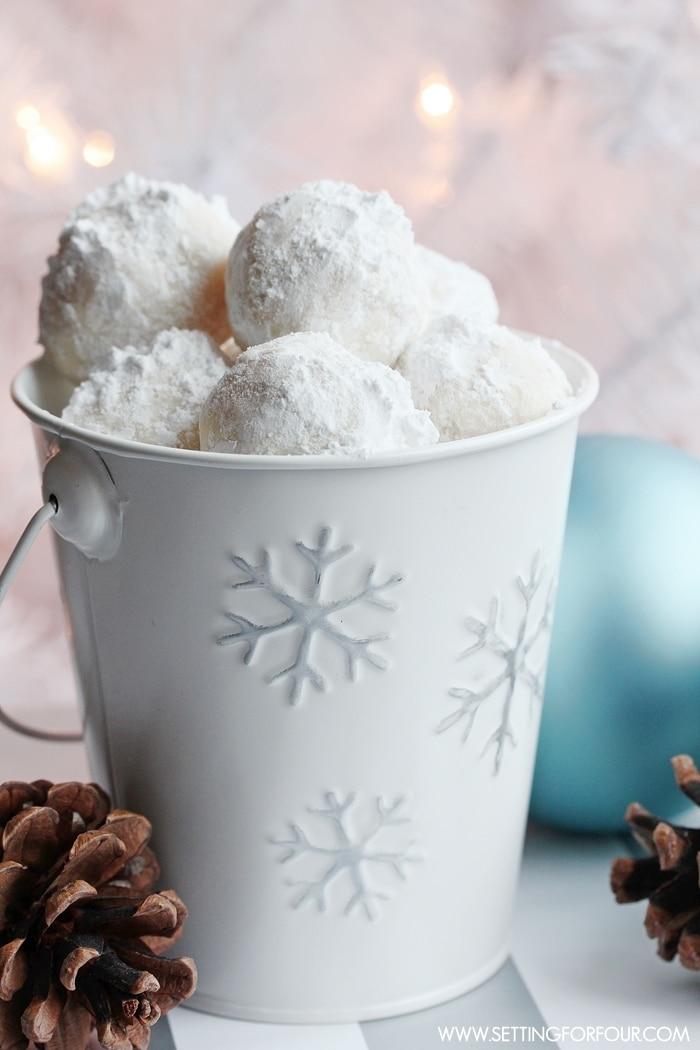 Snowball Cookie Recipe - Delicious!