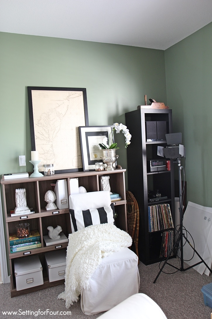 Painting Bedroom Furniture Before And After Home Office Makeover Before And After Setting For Four