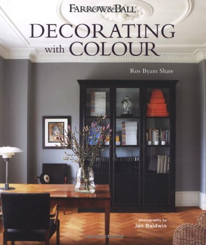 How to select colors for your home: Farrow and Ball Decorating with Color. www.settingforfour.com