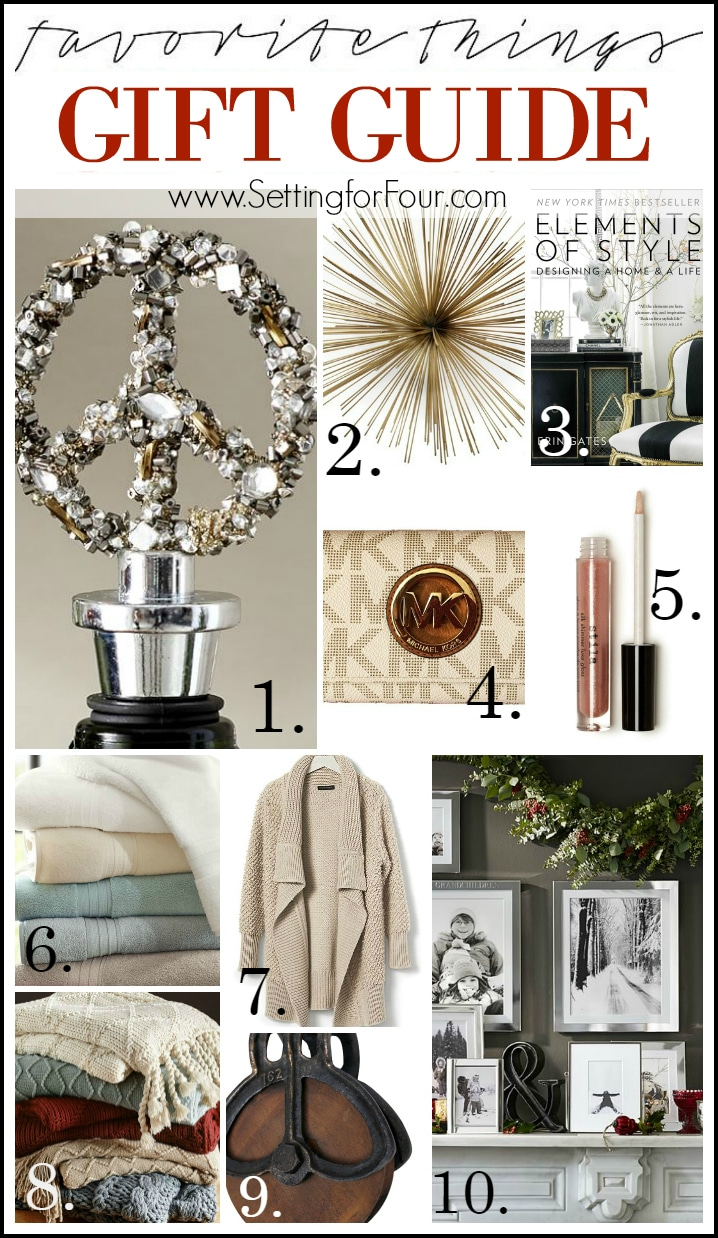Favorite Things Gift Guide for Her!