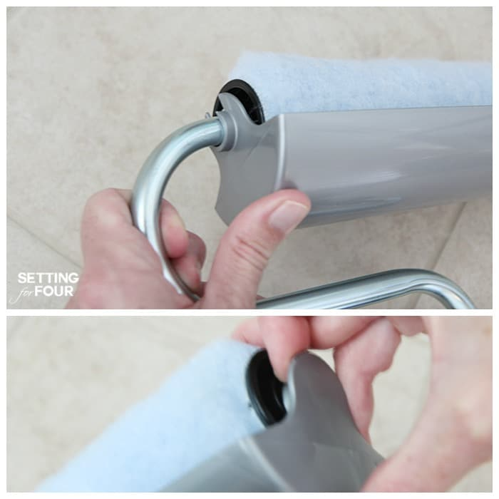 Get this helpful Painting tip! How to paint walls like a pro with the PaintStick EZ-Twist! www.settingforfour.com