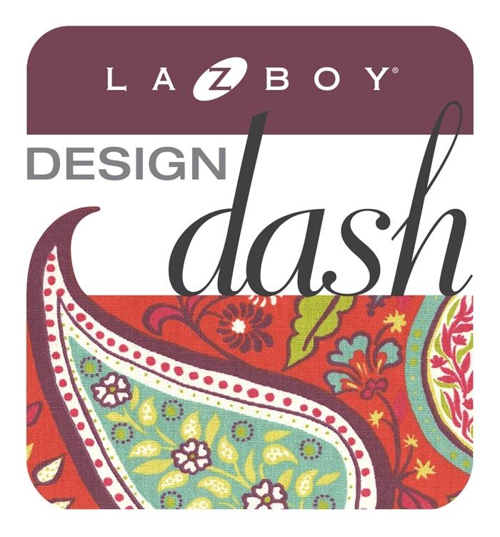 La-Z-Boy Design Dash - 7 bloggers design 5 rooms in less than 48 hours! www.settingforfour.com