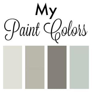 See the paint colors I use in my home and my FAVORITE gray paint color! This color is my go-to grey paint that's a gorgeous warm neutral that works in any room!