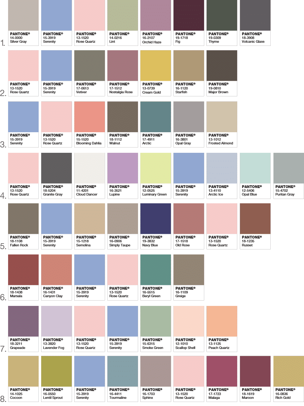 Pantone announces two colors of the year 2016 setting for Color of the year 2016
