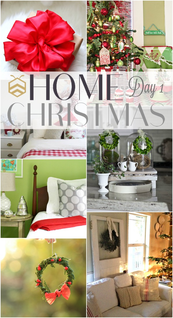 See 7 gorgeous Christmas DIY and decor projects at the bHome Christmas Event | Day 1. www.settingforfour.com