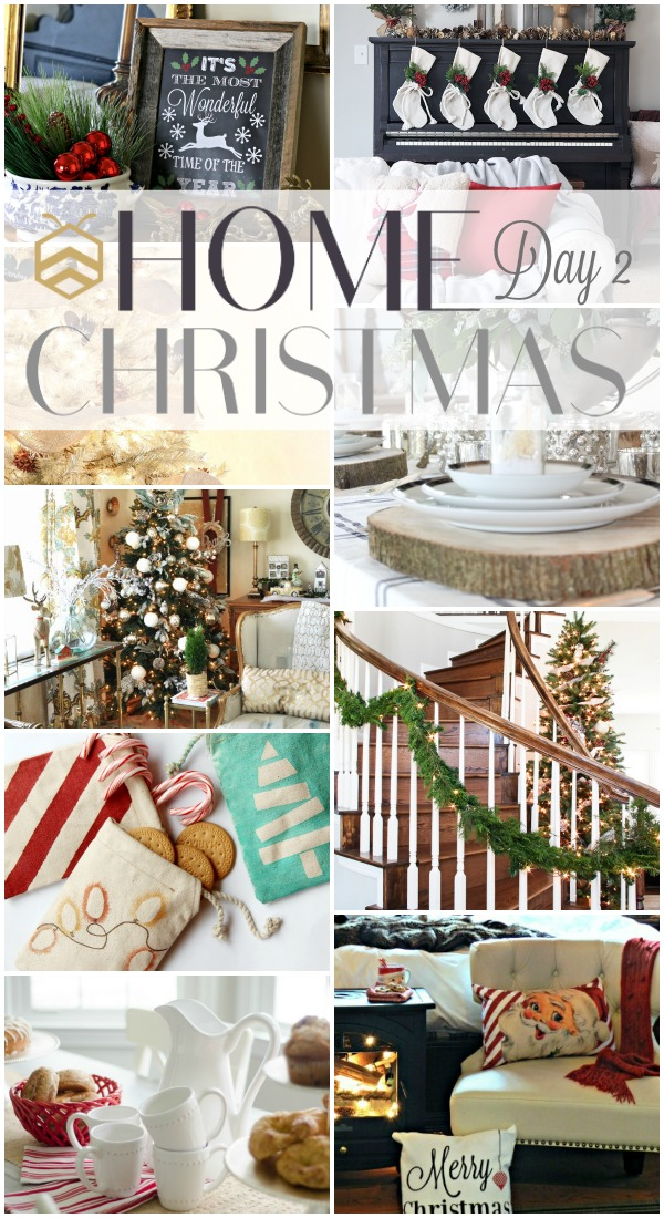 See 9 amazing Holiday DIY and decor project ideas from the bHome Bloggers! bHome Christmas Event | Day 2. www.settingforfour.com