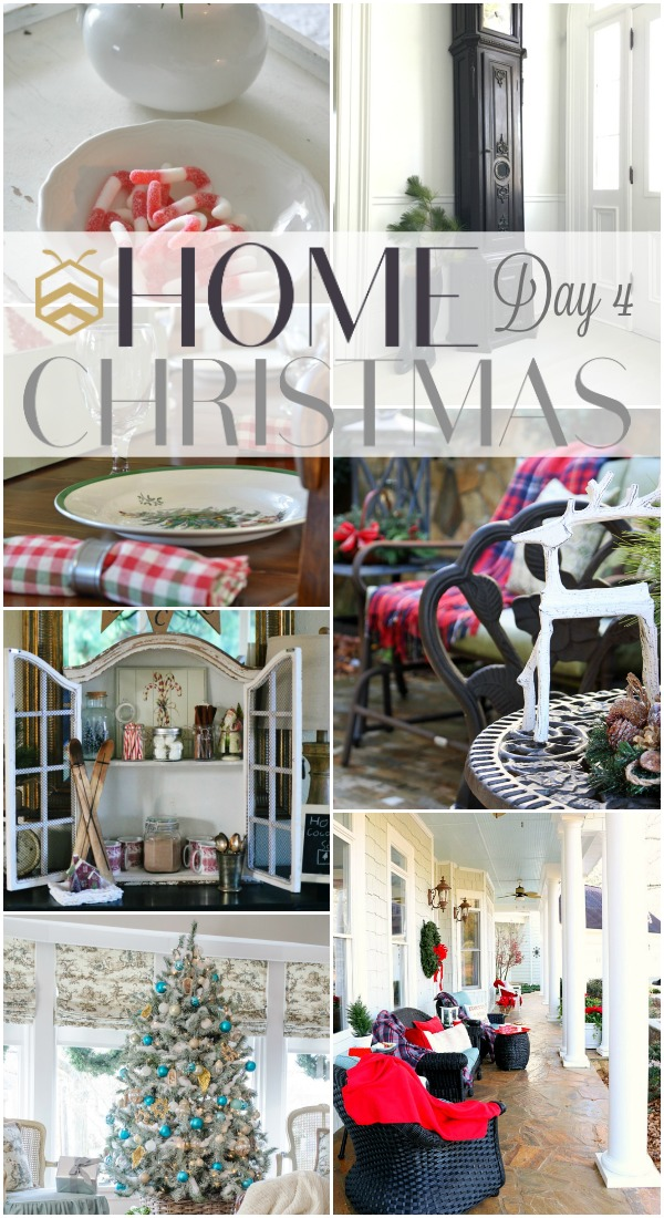 See 7 amazing Holiday DIY and decor project ideas from the bHome Bloggers! bhome Christmas event - Day 4. www.settingforfour.com