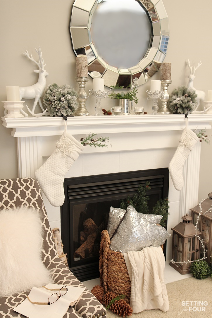 Christmas Home Tour with Country Living - Setting for Four
