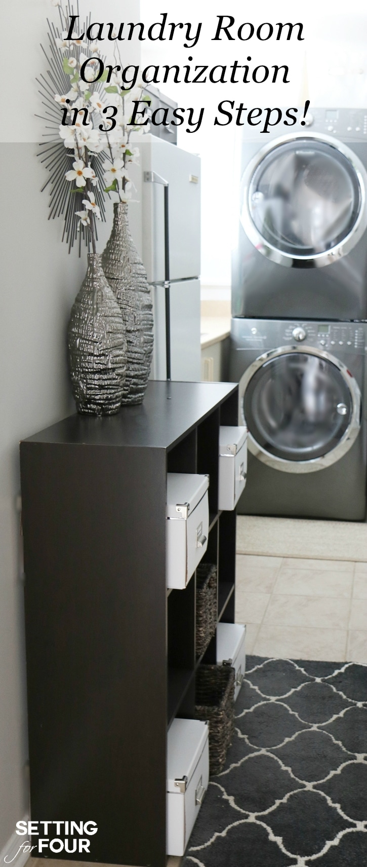 Laundry Room Organization in 3 Easy Steps