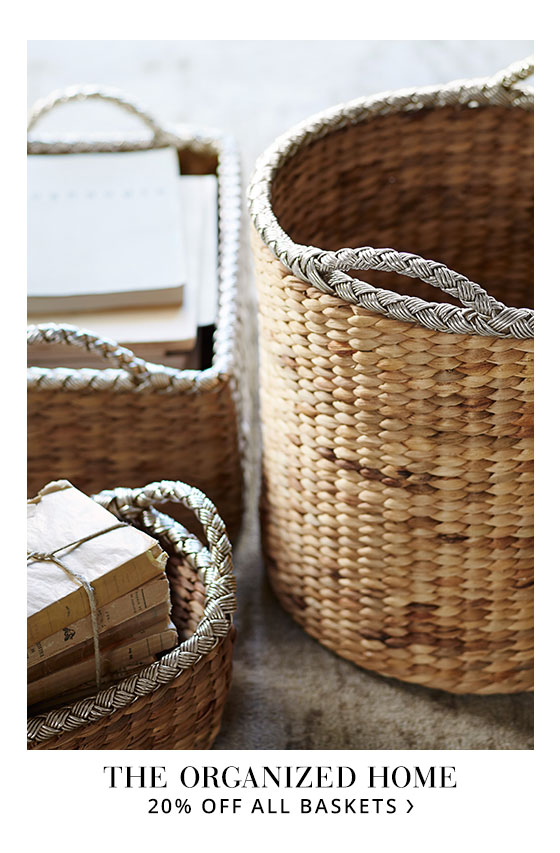 Basket Sale: 20% off!