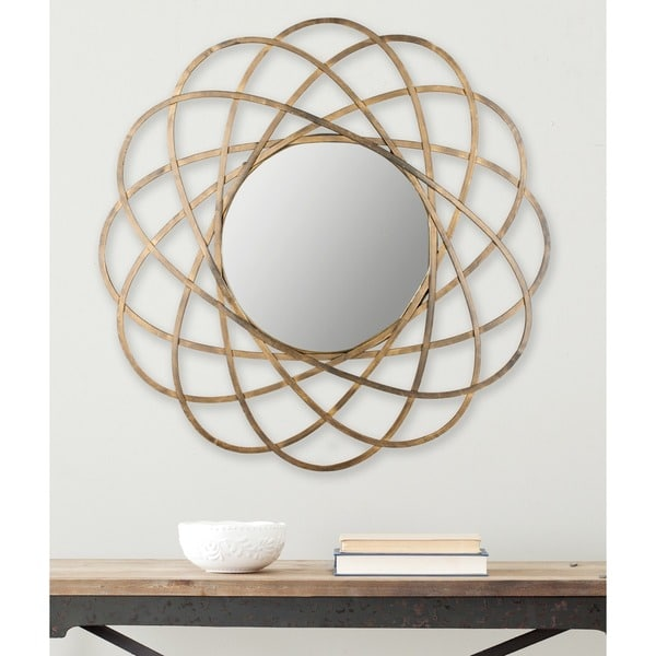 Gold Galaxy Mirror - such a statement!