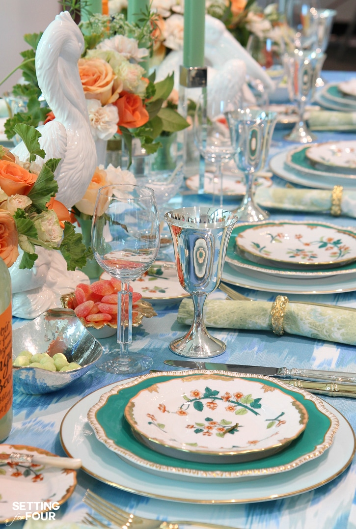 Insider secrets breathtaking table setting ideas from - Table setting for a party ...
